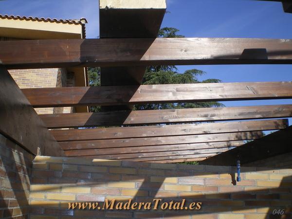 porches y pergolas presupuestos en madrid