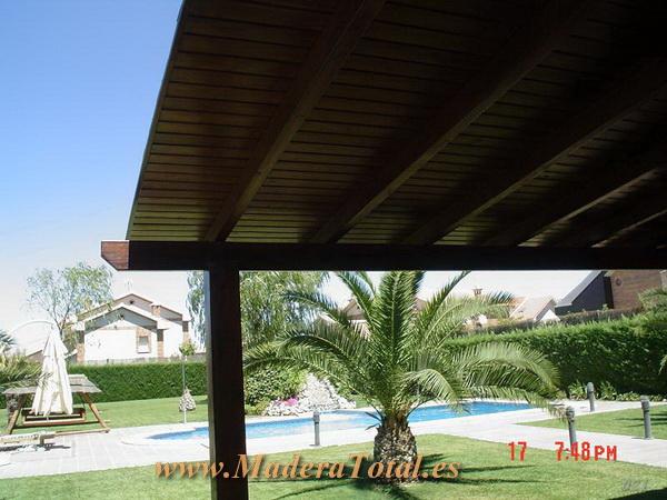 Pergolas y porches de madera en avila - Porches de madera cerrados ...