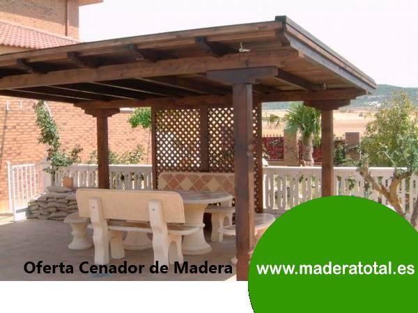cenadores de madera en madrid oferta pergola madrid - Cenador De Madera